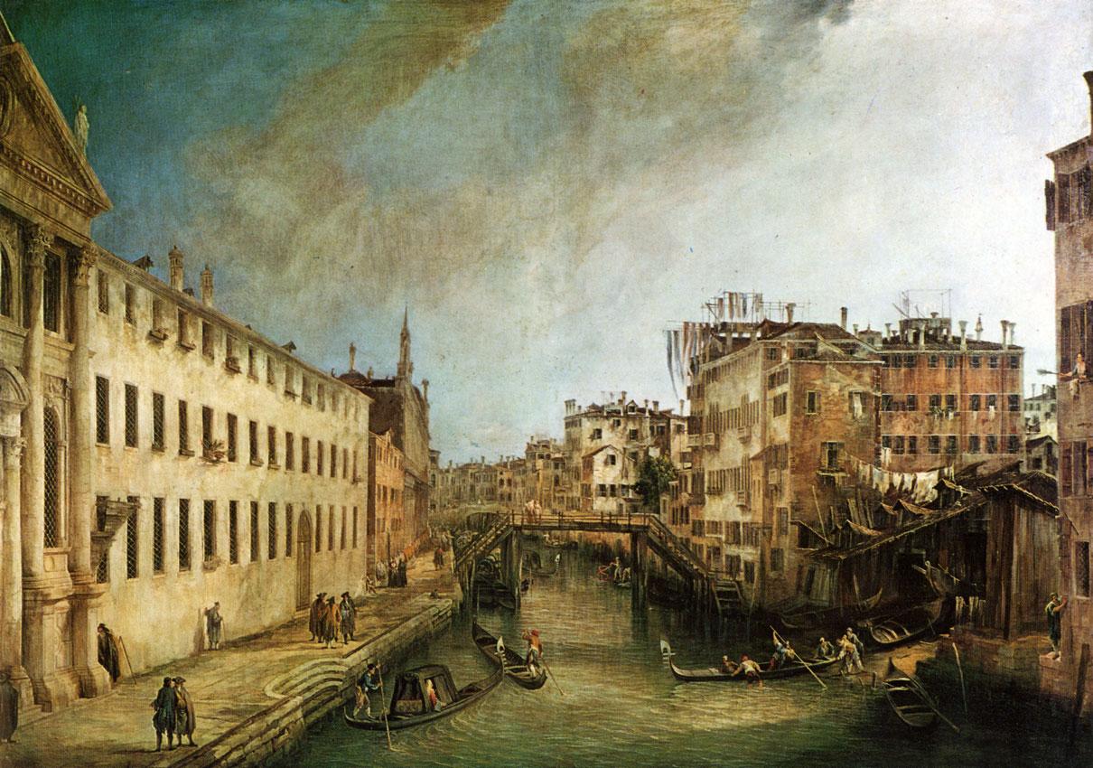 Canaletto - rio
