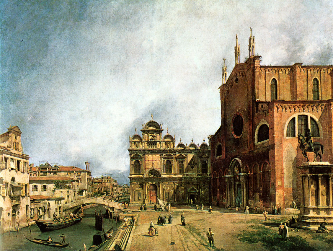 Canaletto - eglise