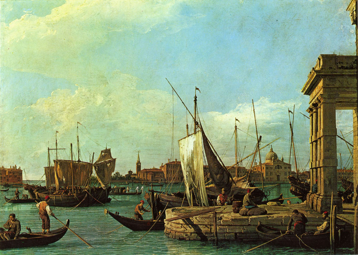 Canaletto - douane