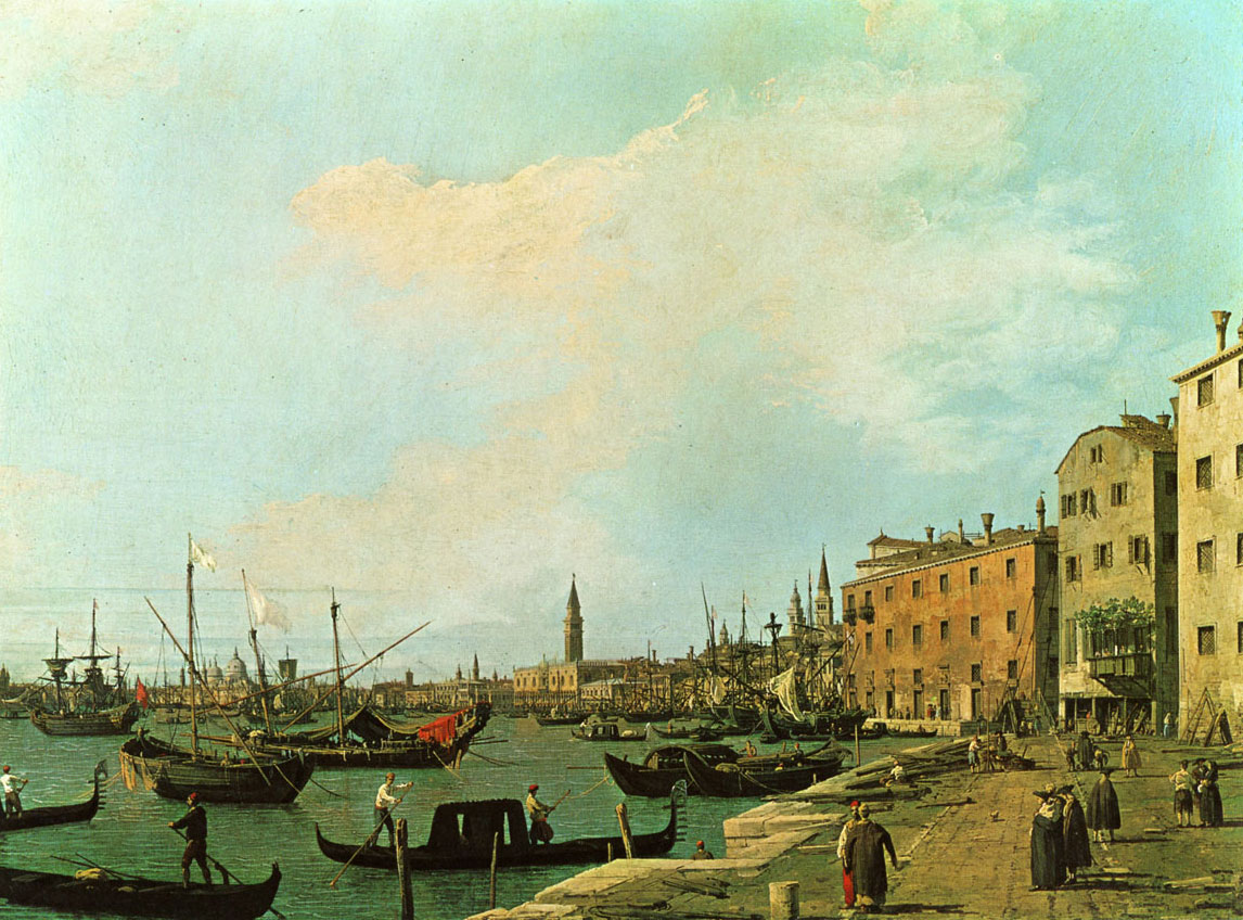 Canaletto - riva