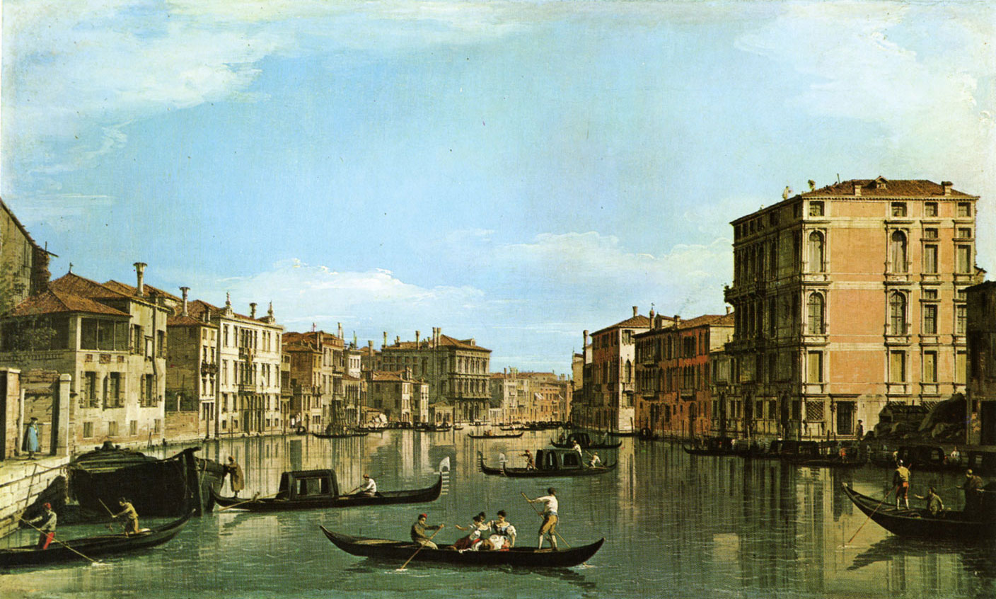 Canaletto - canal