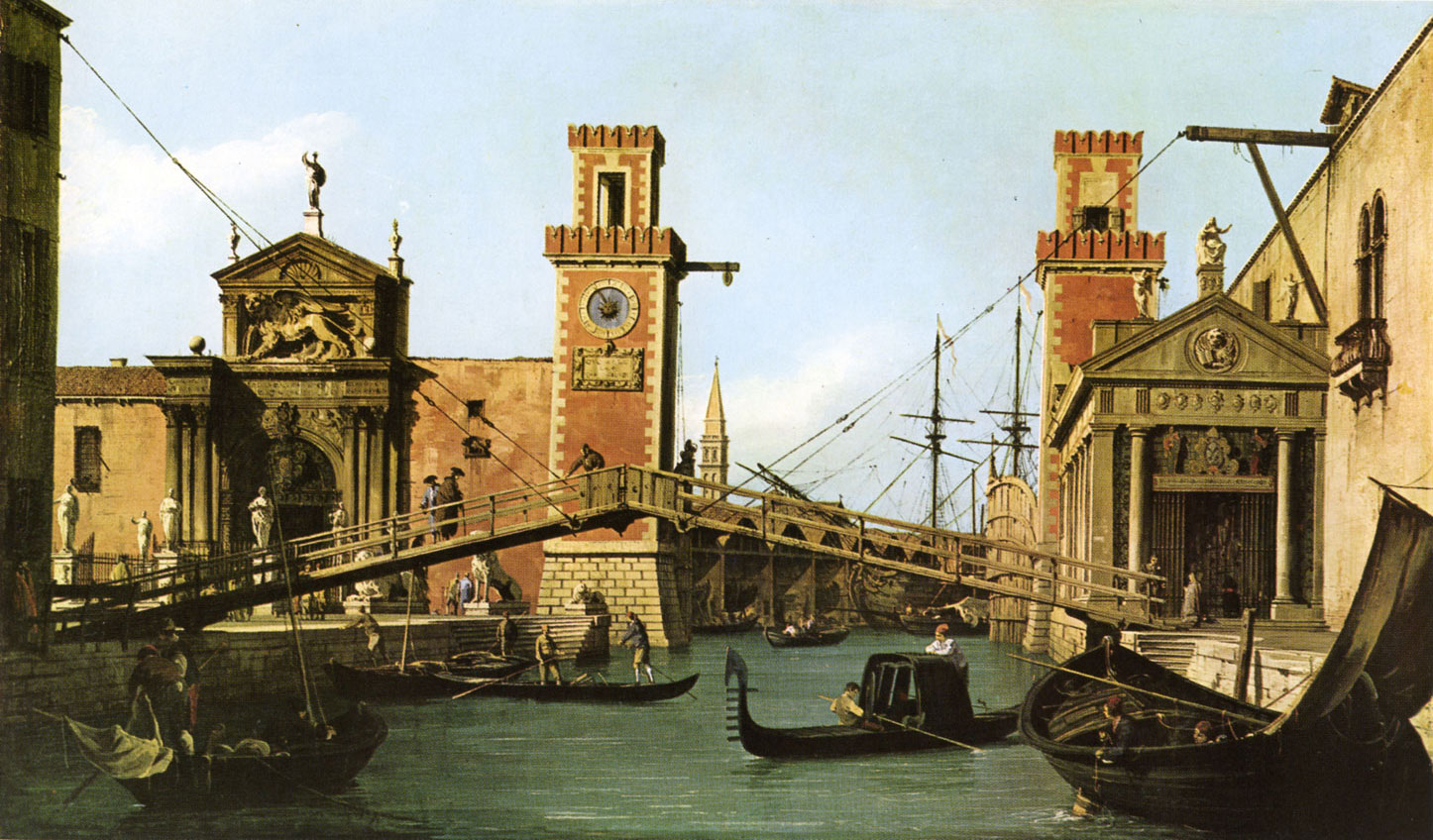 Canaletto - pont