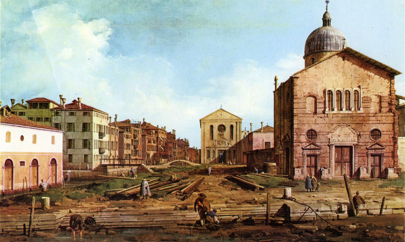 Canaletto - campo