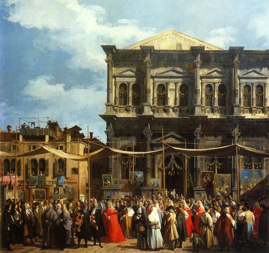 Canaletto - visite