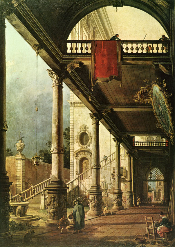 Canaletto - caprice