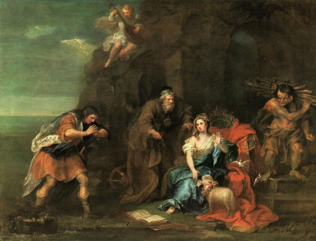Hogarth - tempete