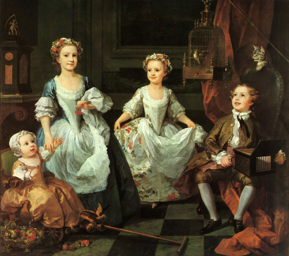 Hogarth - enfants