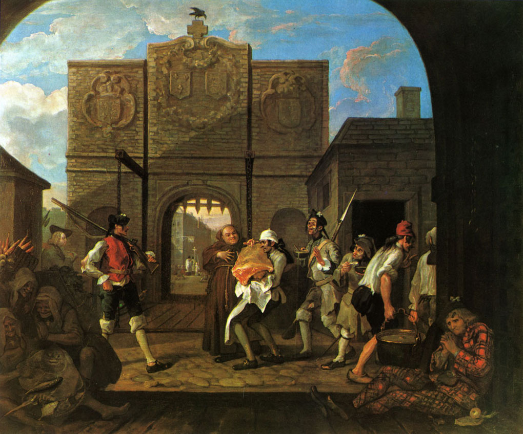 Hogarth - porte