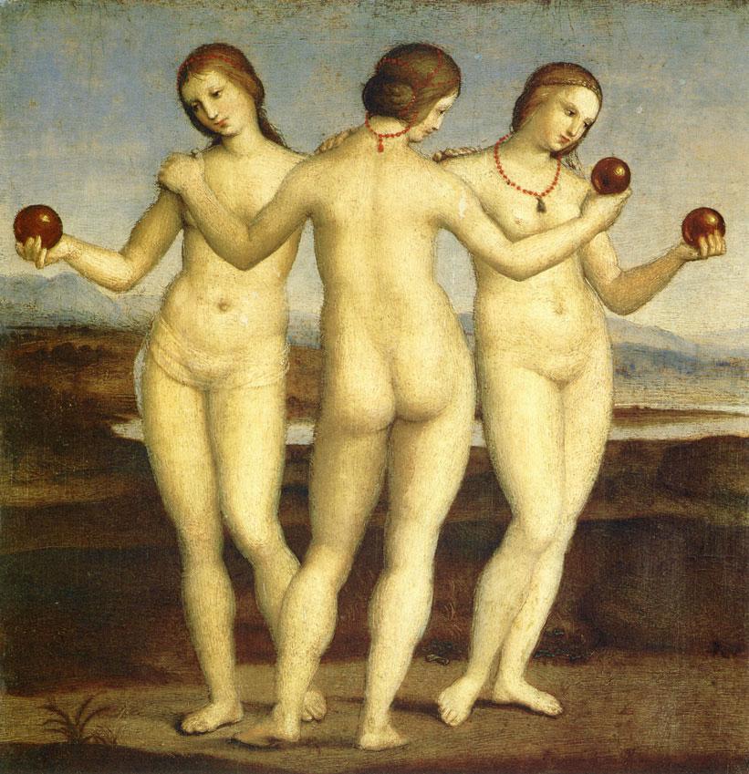 Raphael - graces