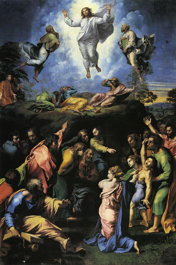Raphael - transfiguration