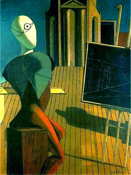 Histoire De L Art Les Mouvements Dans La Peinture La Peinture Metaphysique