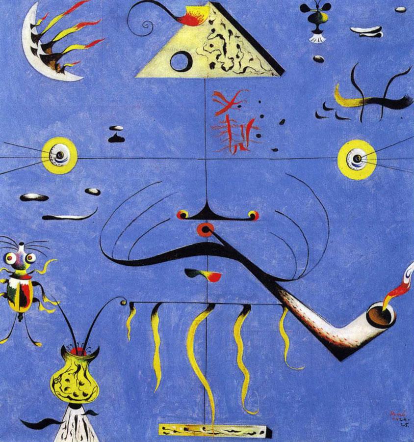 Histoire de l 39 art les mouvements dans la peinture le for Joan miro interieur hollandais